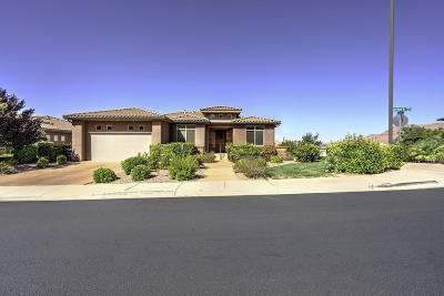 St George Single Family Home For Sale: 2177 N Lone Rock Dr
