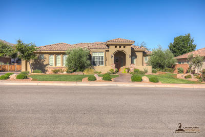 St George Single Family Home For Sale: 2196 S 1300 W