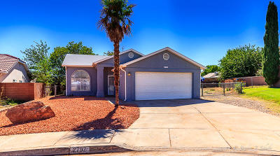 St George Single Family Home For Sale: 2792 E 150 N