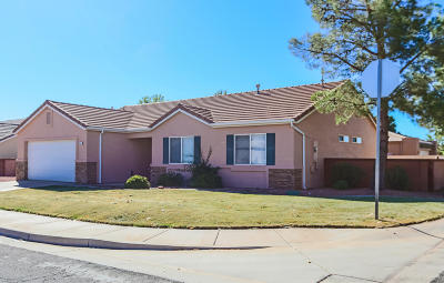 Ivins Single Family Home For Sale: 634 E 490 S