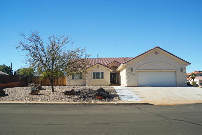 Santa Clara Single Family Home For Sale: 1807 Desert Dawn Dr