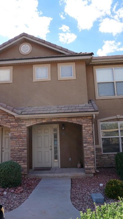 St George Condo/Townhouse For Sale: 3155 S Hidden Valley #338