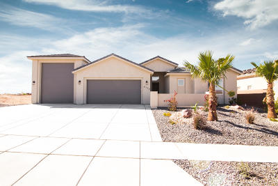 St George Single Family Home For Sale: 6130 Deserts Edge Dr