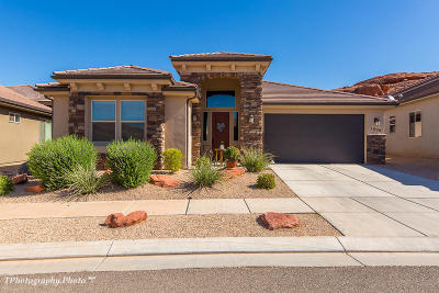 St George Single Family Home For Sale: 1098 N Montana Lane #214