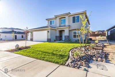 St George Single Family Home For Sale: 3242 E 3050 S