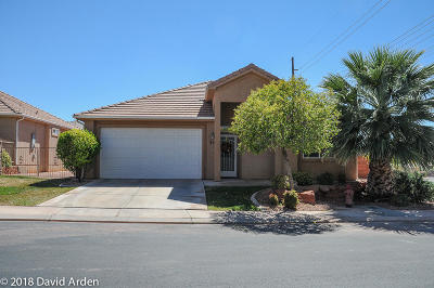 St George UT Single Family Home For Sale: $264,528