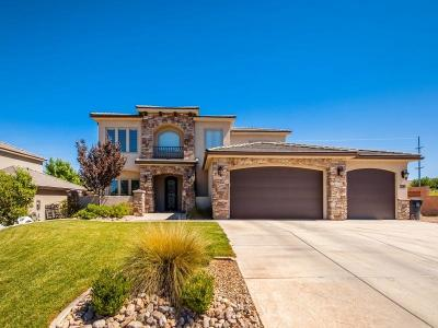 St George UT Single Family Home For Sale: $480,000