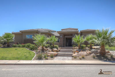 St George UT Single Family Home For Sale: $519,900