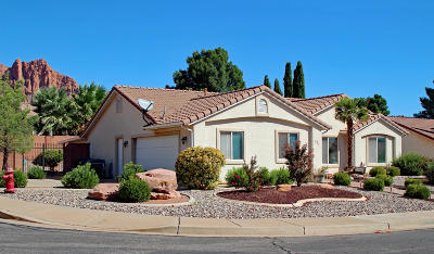 Ivins Single Family Home For Sale: 327 E 60 S