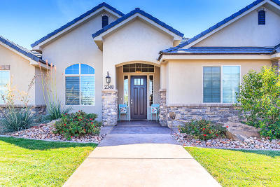 St George UT Single Family Home For Sale: $489,900
