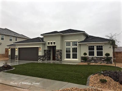 St George Single Family Home For Sale: Vineyards Ridge Lot 1