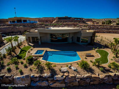 St George UT Single Family Home For Sale: $1,350,000