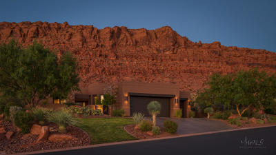 St George UT Single Family Home For Sale: $1,035,000