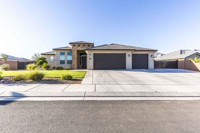 St George UT Single Family Home For Sale: $429,900