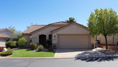 St George Single Family Home For Sale: 4207 S Kiva Hill Dr