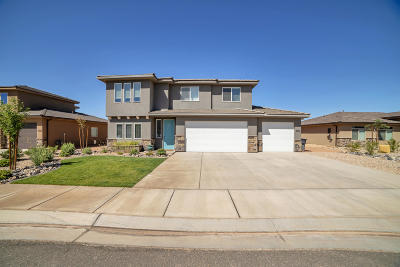 St George Single Family Home For Sale: 5916 S Sirius Way