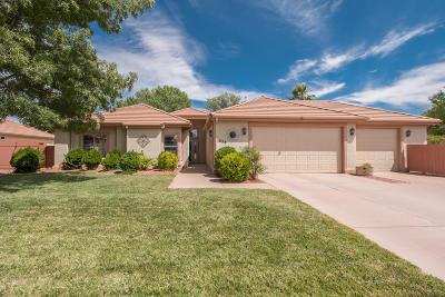 Hurricane Single Family Home For Sale: 258 N 2620 W