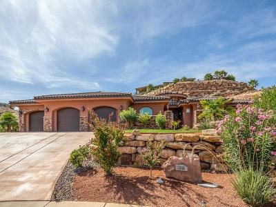 St George Single Family Home For Sale: 1566 S 2520 Cir E