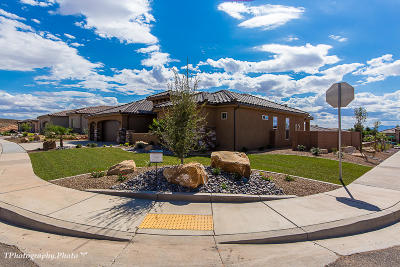 Washington Single Family Home For Sale: 757 W Sunset Mesa Dr