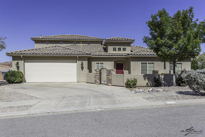 St George UT Single Family Home For Sale: $330,000
