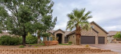 St George Single Family Home For Sale: 2394 S 1880 E. Cir