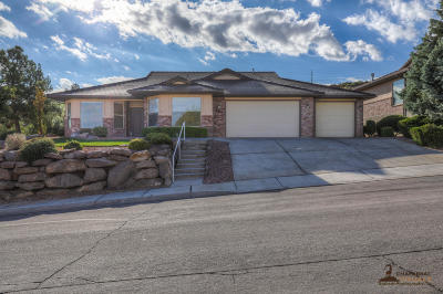 St George Single Family Home For Sale: 589 Rolling Hills Dr