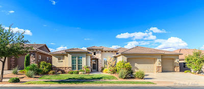 St George UT Single Family Home For Sale: $724,900