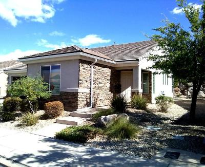 St George Single Family Home For Sale: 4387 S Kiva Hill Dr