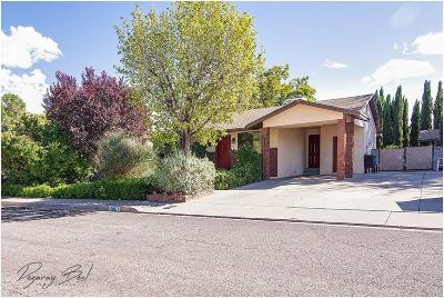 St George Single Family Home For Sale: 1801 W 1280 N
