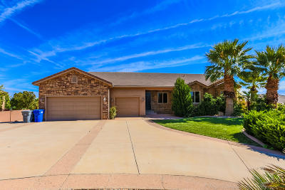 St George Single Family Home For Sale: 2121 S 2300 E
