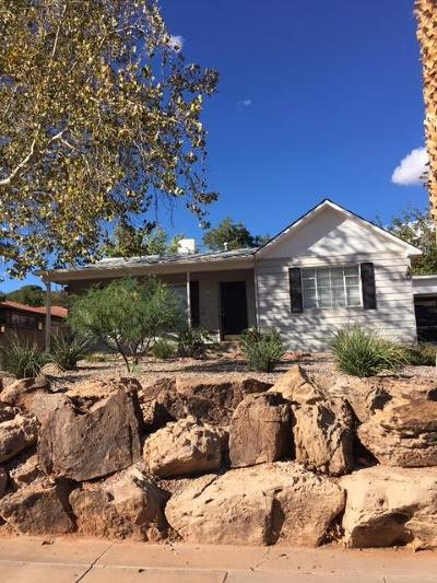 St George Single Family Home For Sale: 81 E 300 N