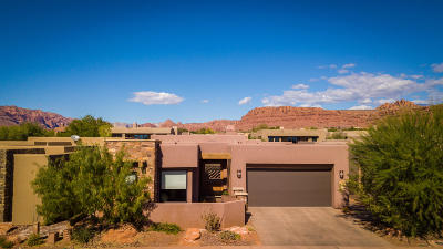 St George UT Single Family Home For Sale: $495,000