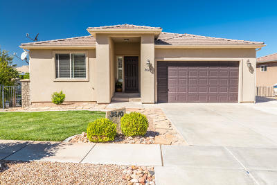 St George Single Family Home For Sale: 3610 S Price Hills Dr