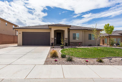 St George Single Family Home For Sale: 3610 E Antares Ln