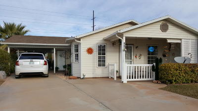 St George UT Single Family Home For Sale: $175,900