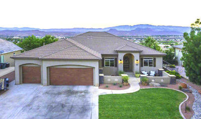 St George Single Family Home For Sale: 2129 N Lone Rock Dr