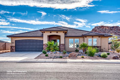 St George Single Family Home For Sale: 5907 S Vega Way