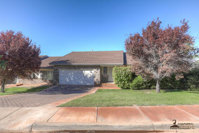St George UT Condo/Townhouse For Sale: $289,000