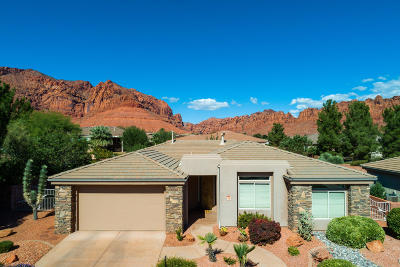 Ivins Single Family Home For Sale: 140 Tuacahn Dr #25