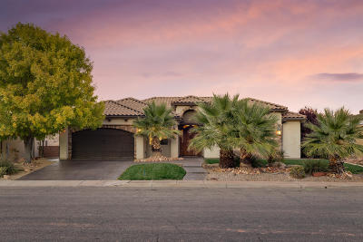 St George UT Single Family Home For Sale: $435,400