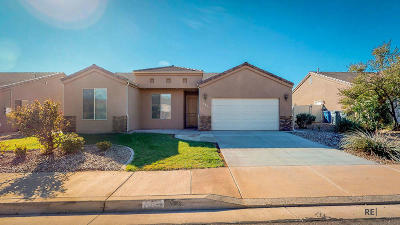 Ivins Single Family Home For Sale: 664 E. 590 S.