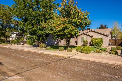 Hurricane Single Family Home For Sale: 158 W 200 N