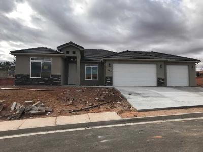 Hurricane Single Family Home For Sale: 2615 W 400 N #Lot #11