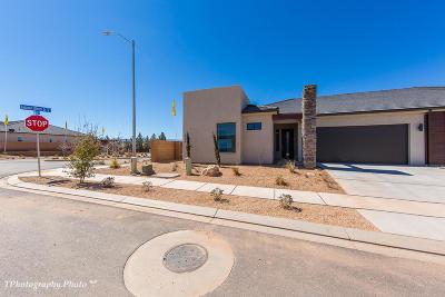 Ivins, Santa Clara, St George, Washington Single Family Home For Sale: 4754 S Kestral Dr