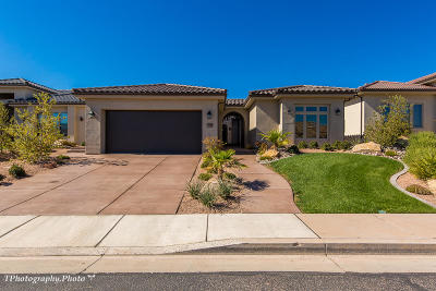 St George UT Single Family Home For Sale: $660,000