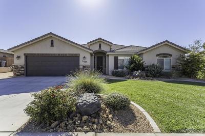 Hurricane Single Family Home For Sale: 3483 W 250 N