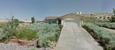 St George Single Family Home For Sale: 1692 W 5745 N