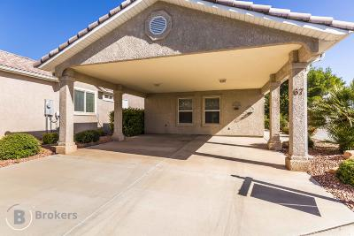 St George Single Family Home For Sale: 2990 E Riverside Dr #67