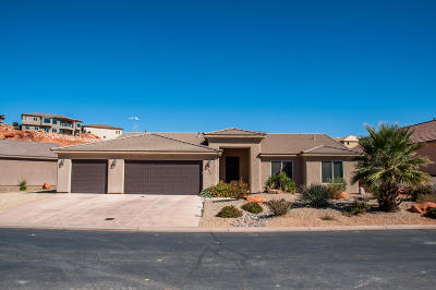 Washington Single Family Home For Sale: 496 N Creek Ridge Cir