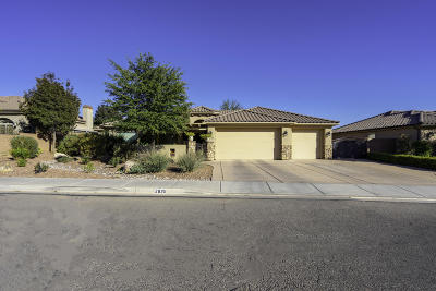 St George Single Family Home For Sale: 2639 S 2350 E